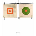 Steel Frame Double Paper Target Stand