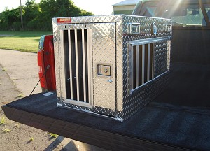 "Owens Products Hunter Series Single-Compartment Dog Box without Top Storage – 38""L x 21""W x 25""H"