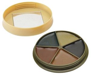 CAMO FACE PAINT KIT WITH MIRROR 5 COLOR