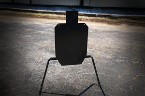 Viking Solutions AR500 IPSC Target with Stand