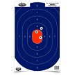 "Dirty Bird® 16.5"" x 24"" Blue/Orange Oval Silhouette Target - 3 targets"