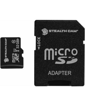 STEALTH CAM 32GB MICRO SD MEMORY CARD SINGLE PACK